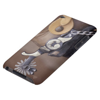 NA, USA, Texas, Lubbock Cowboy boot and spur iPod Touch Cases
