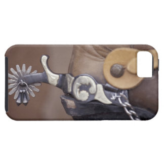 NA, USA, Texas, Lubbock Cowboy boot and spur iPhone SE/5/5s Case