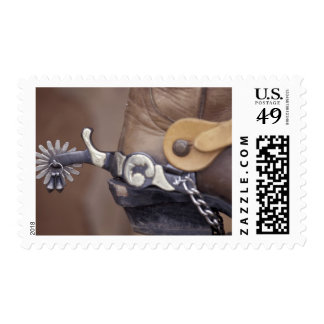 NA, USA, Texas, Lubbock Cowboy boot and spur Postage