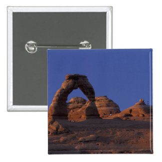 NA, USA, Utah, Arches National Park. Delicate Pinback Button