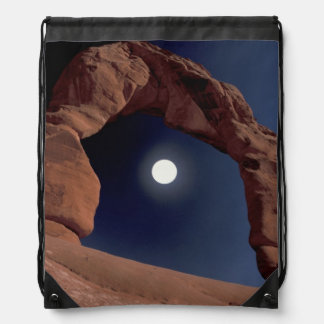 NA, USA, Utah, Arches National Park. Delicate Drawstring Bag
