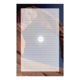 NA, USA, Utah, Arches National Park. Delicate Stationery
