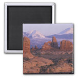 NA, USA, Utah, Arches National Park. Garden of 2 Inch Square Magnet