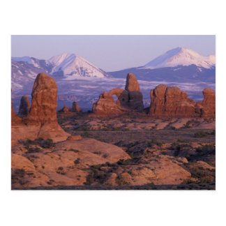 NA, USA, Utah, Arches National Park. Garden of Postcard