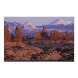 NA, USA, Utah, Arches National Park. Garden of Posters