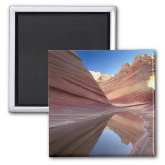 NA, USA, Utah, Vermillion Cliffs. Coyote Butte 2 Magnet