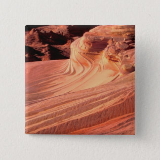 NA, USA, Utah, Vermillion Cliffs. Coyote Butte Pinback Button
