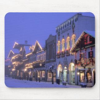 NA, USA, Washington, Leavenworth. Main Street Mouse Pad