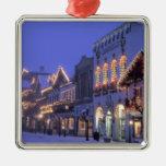 NA, USA, Washington, Leavenworth. Main Street Christmas Ornament