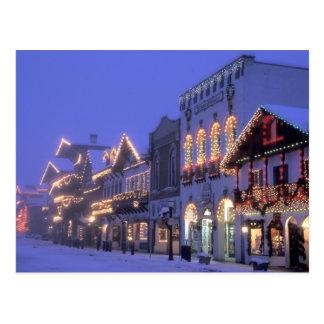 NA, USA, Washington, Leavenworth. Main Street Postcard