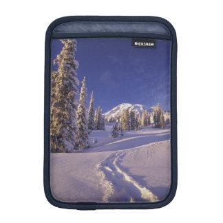 NA, USA, Washington, Mt. Rainier NP, Snowshoe Sleeve For iPad Mini