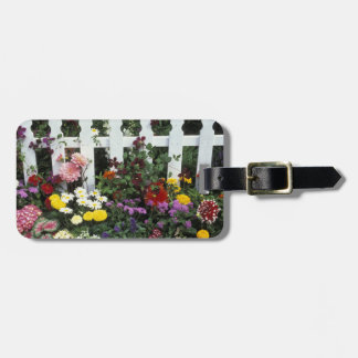 NA, USA, Washington, Sammamish, White picket Luggage Tag