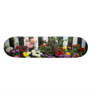 NA, USA, Washington, Sammamish, White picket Skateboard Deck