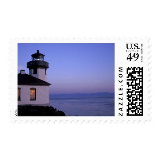 NA, USA, Washington, San Juan Islands. Lime Kiln Postage