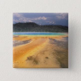 NA, USA, Wyoming, Yellowstone NP, Grand Pinback Button