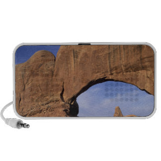 NA, Utah, Arches National Park. Double Arch iPhone Speaker