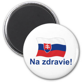 Na Zdravie To your health Refrigerator Magnet