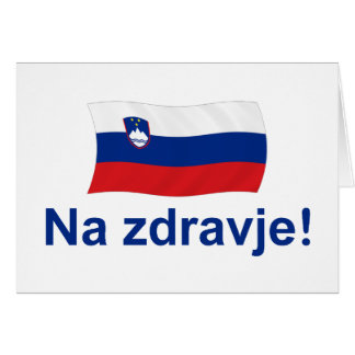 Na zdravje! (To your health!) - Card
