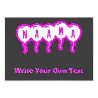 """Naama Invitación 5"""" X 7"""""""
