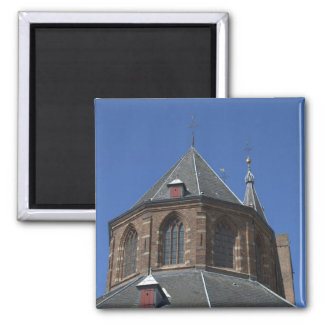 Naarden church 2 inch square magnet