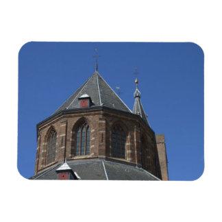 Naarden church rectangular photo magnet