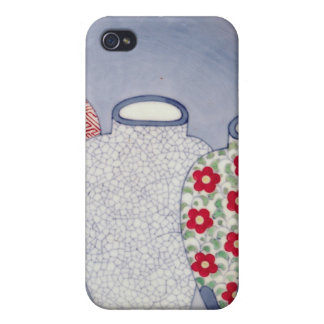 Nabeshima Dish, Edo Period iPhone 4 Case