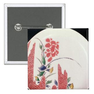 Nabeshima plate, c.1716-35 button