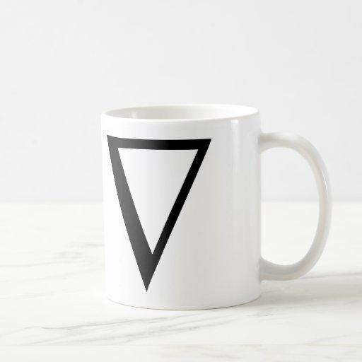 NABLA CLASSIC WHITE COFFEE MUG
