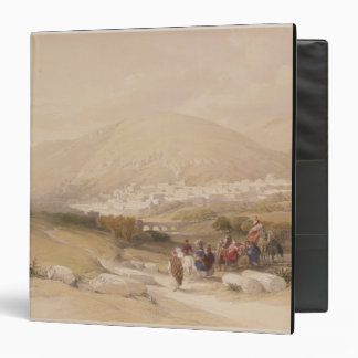 Nablous, ancient Shechem, April 17th 1839, plate 4 3 Ring Binders