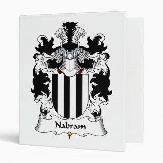 Nabram Family Crest Binders