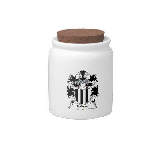 Nabram Family Crest Candy Jars