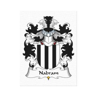 Nabram Family Crest Stretched Canvas Prints