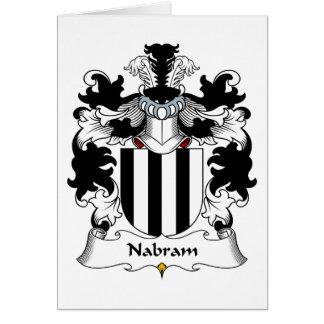 Nabram Family Crest Greeting Cards