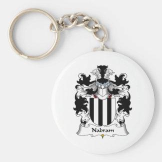 Nabram Family Crest Keychain