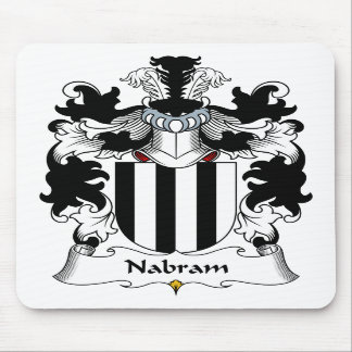 Nabram Family Crest Mouse Pad