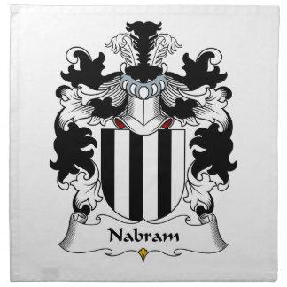 Nabram Family Crest Cloth Napkins