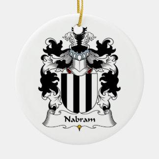 Nabram Family Crest Ornament