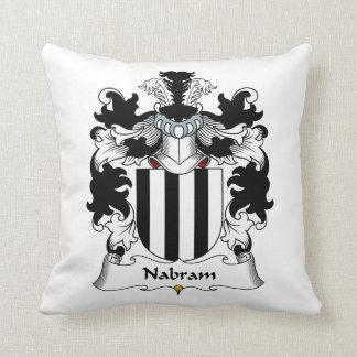 Nabram Family Crest Throw Pillows