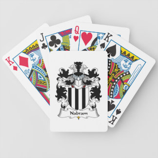 Nabram Family Crest Bicycle Poker Cards