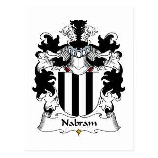 Nabram Family Crest Postcards