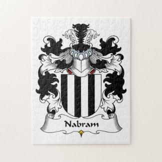 Nabram Family Crest Jigsaw Puzzle