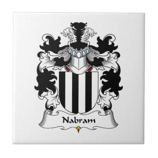 Nabram Family Crest Tile