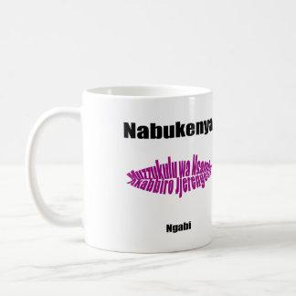 Nabukenya Classic White Coffee Mug