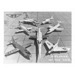 NACA X-Planes of the 1950s Postcards