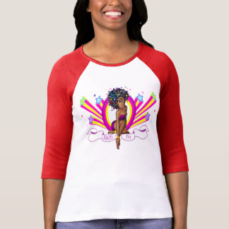 "Nach-Ro ""Starz"" 3/4 Sleeve Raglan T-Shirt!"
