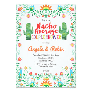 Nacho Average Couple Shower Invitation