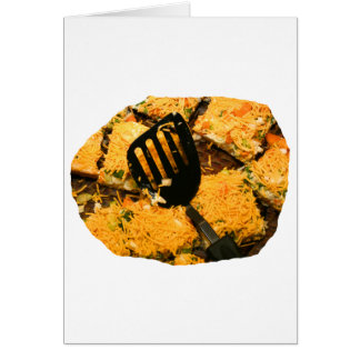 Nacho crackers and spatula pic card