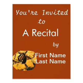 Nacho crackers and spatula pic personalized announcement