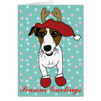 Nacho Jack Russell Terrier Felicitacion