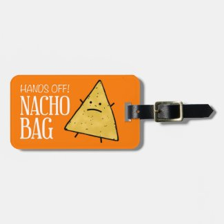 Nacho Luggage Tag